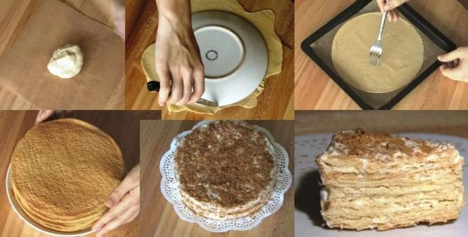 Приготовить торт в домашних условиях простой